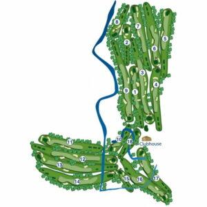 Brackenridge Park Golf Course Map