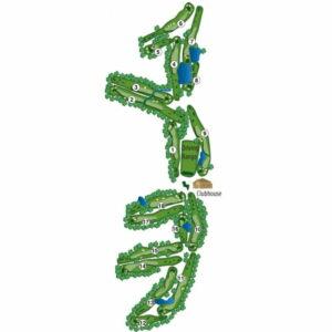 Mission Del Lago Course Map