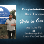 Rick Trevino Alamo City Golf Trail Hole in One