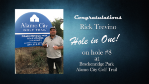 Rick Trevino Alamo City Golf Trail Hole in One