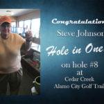 Steve Johnson Alamo City Golf Trail Hole in One