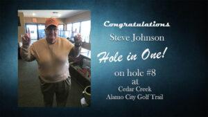 Hole in One(Steve Johnson)