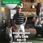 Larry Cade Alamo City Golf Trail Hole in One