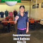 Jack Boileau Alamo City Golf Trail Hole in One