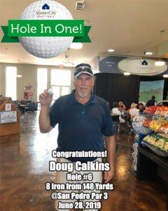 Doug Calkins Alamo City Golf Trail Hole in One