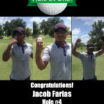 Jacob Farias Alamo City Golf Trail Hole in One