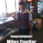 Mile Cuellar Alamo City Golf Trail Hole in One