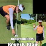 Beverly Blair Alamo City Golf Trail Hole in One