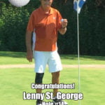 Lenny St. George Alamo City Golf Trail Hole in One