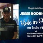 Jesse Rodriguez Alamo City Golf Trail Hole in One