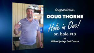 Doug Thorne Alamo City Golf Trail Hole in One