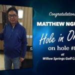 Matthew Nguyen Alamo City Golf Trail Hole in One