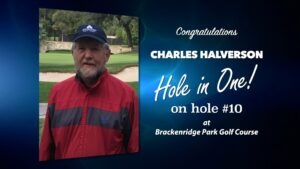 Charles Halverson Alamo City Golf Trail Hole in One