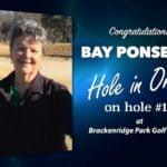 Bay Ponseigo Alamo City Golf Trail Hole in One