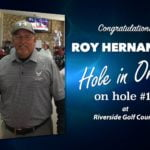 Roy Hernandez Alamo City Golf Trail Hole in One