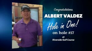 Albert Valdez Alamo City Golf Trail Hole in One