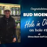 Bud Moening Alamo City Golf Trail Hole in One
