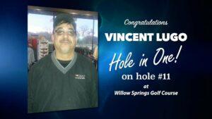 Vincent Lugo Alamo City Golf Trail Hole in One