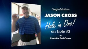 Jason Cross Alamo City Golf Trail Hole in One