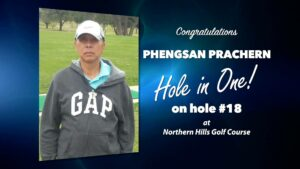 Phengsan Prachern Alamo City Golf Trail Hole in One