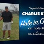 Charlie Kerr Alamo City Golf Trail Hole in One