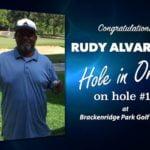 Rudy Alvarado Alamo City Golf Trail Hole in One