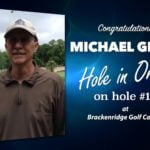 Michael Glass Alamo City Golf Trail Hole in One