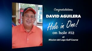 David Aguilera Alamo City Golf Trail Hole in One