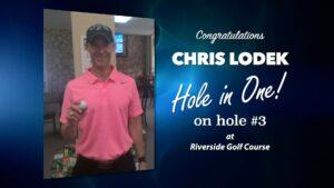 Chris Lodek Alamo City Golf Trail Hole in One
