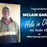 McLain Garrett Alamo City Golf Trail Hole in One