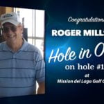 Roger Millstid Alamo City Golf Trail Hole in One