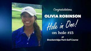 Olivia Robinson Alamo City Golf Trail Hole in One