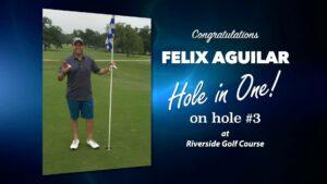 Felix Aguilar Alamo City Golf Trail Hole in One