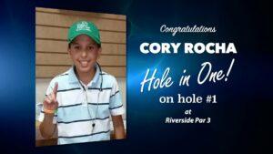Cory Rocha Alamo City Golf Trail Hole in One