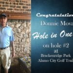 Donnie Mova Alamo City Golf Trail Hole in One