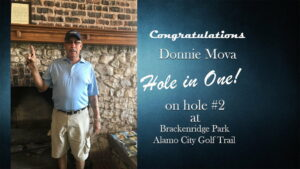 hole in one 7-19-18