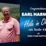 Earl Harmsen Alamo City Golf Trail Hole in One