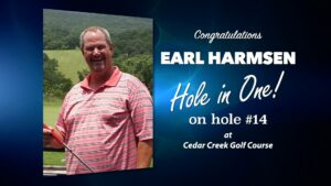 Earl Harmsen Alamo City Golf Trail Hole in One