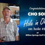Cho Soh Alamo City Golf Trail Hole in One