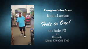 hole in one 7-3-18