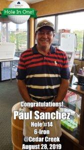 Paul Sanchez Hole In One