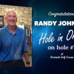 Randy Johnson Alamo City Golf Trail Hole in One