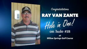 Ray Van Zante Alamo City Golf Trail Hole in One
