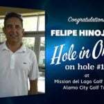 Felipe Hinojosa Alamo City Golf Trail Hole in One