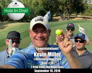 Kevin Miller Hole In One