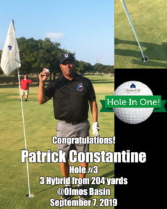 Patrick Constantine Hole In One