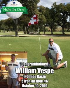 William Vespe Hole In One