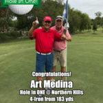 Art Medina Hole In One
