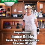 Janice Dobbs hole in one