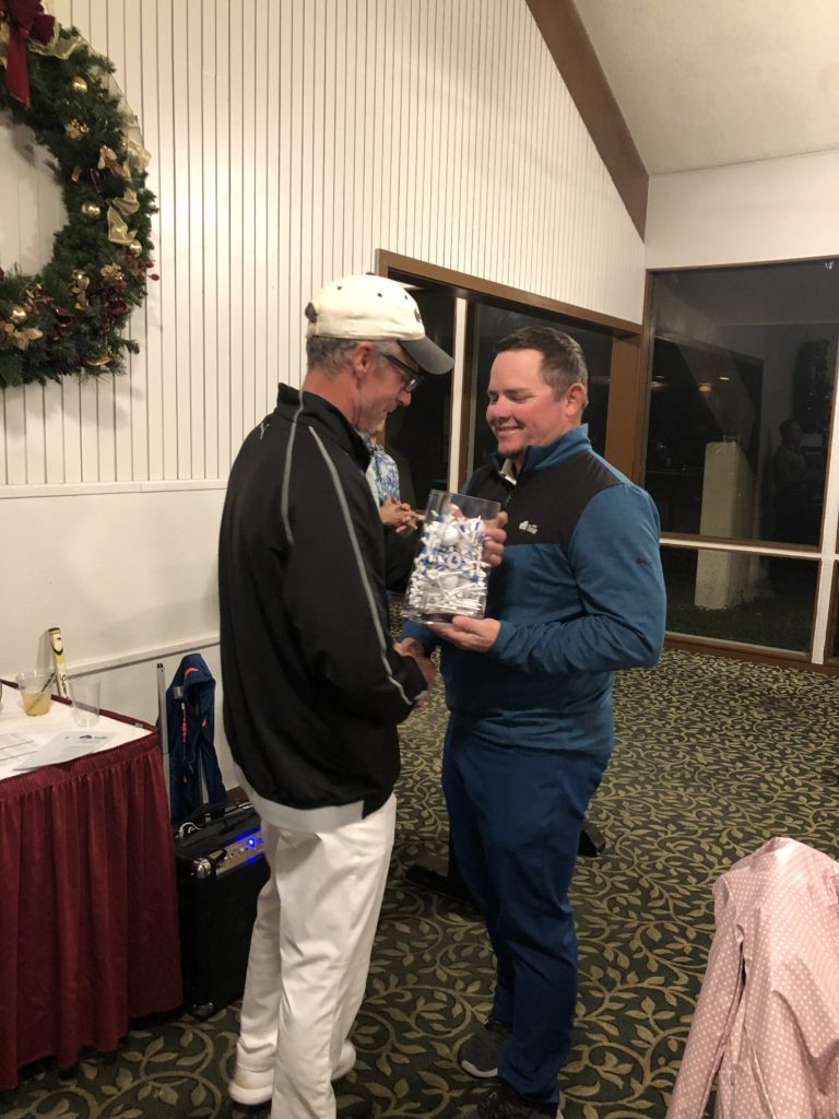 Casey Carnes 2018 Champ passing torch to 2019 Chris Campbell Tour Champion2